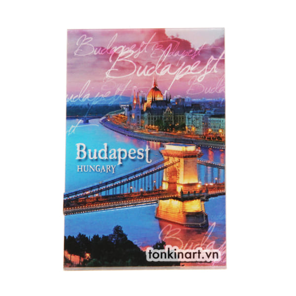 Sản Xuất Nam Châm Tủ Lạnh Nhựa - Budapest, Quà tặng du lịch, Nam châm tủ lạnh