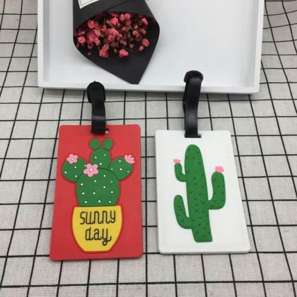 thẻ tên nhựa gắn vali, luggage tag