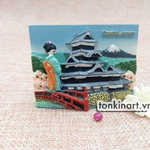 Sản Xuất Nam châm Tủ Lạnh Bột Đá Castle Japan