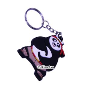 Sản Xuất Móc Khóa Cao Su - Chú Gấu Trúc, Quà tặng doanh nghiệp, Móc chìa khóa
