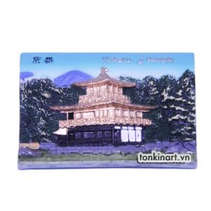 Sản Xuất Nam Châm Tủ Lạnh Bột Đá Đền Vàng (Nhật Bản)