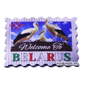 Sản Xuất Nam Châm Tủ Lạnh Nhôm - Belarus, Quà tặng du lịch, Nam châm tủ lạnh