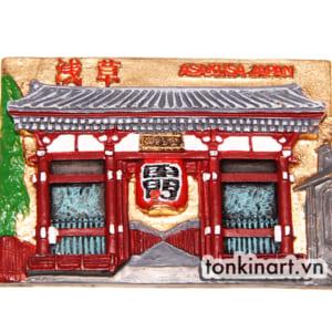 Sản Xuất Nam Châm Tủ Lạnh Bột Đá Asakusa - Nhật Bản