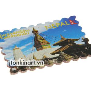 Sản Xuất Nam Châm Tráng Nhôm - Nepal, Quà tặng du lịch, Nam châm tủ lạnh