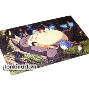 Sản Xuất Tranh 3D Nhựa Dẻo - Totoro, Quà tặng doanh nghiệp, Tranh 3D