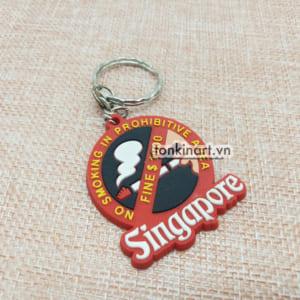Sản Xuất Móc Khóa Nhựa Dẻo - Singapore, Quà tặng doanh nghiệp, Móc chìa khóa