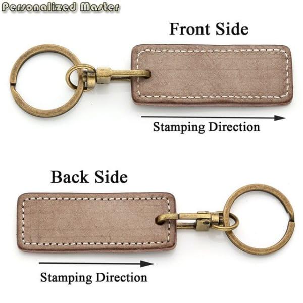 keychain, móc chìa khóa, móc khóa da, móc khóa vintage