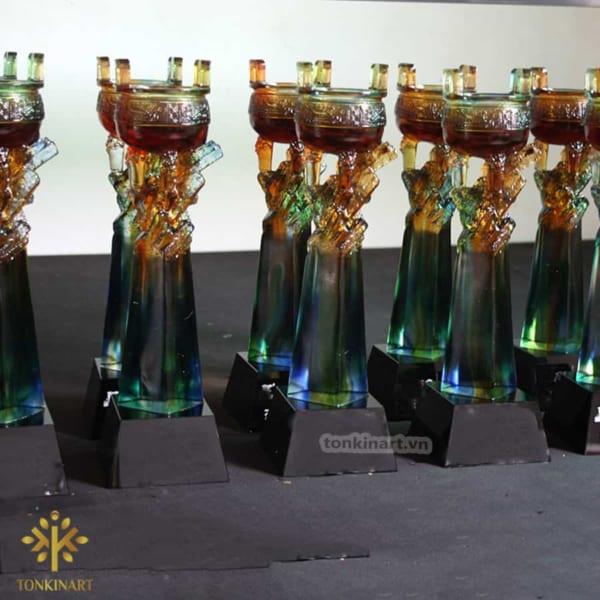 kỉ niệm chương pha lê tonkin art