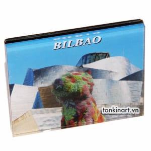 Nam Châm Nhựa Cứng - Bilbao, nam châm tủ lạnh