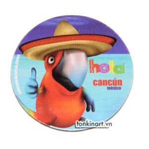 Nam Châm Bìa Cứng - Mexico, nam châm tủ lạnh