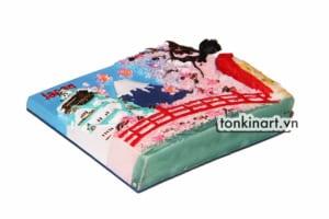 Tonkinart Nam Châm Tủ Lạnh Bột Đá