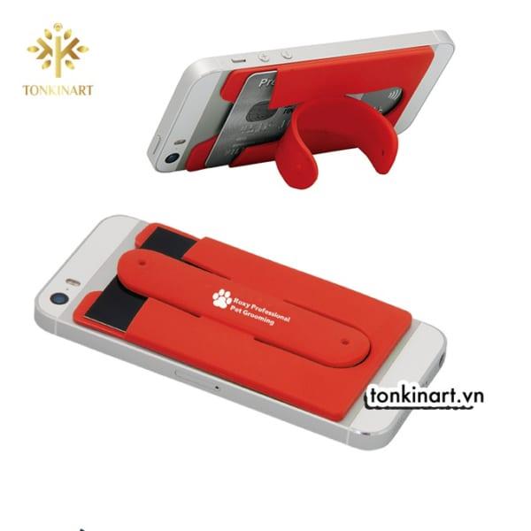 Sản xuất thẻ silicone kèm chân đế giữ điện thoại