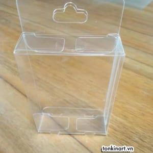 Sản Xuất Hộp Nhựa Trong Kèm Nơ