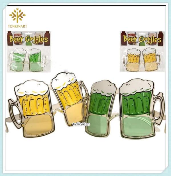 Sản xuất kính hình chai bia lễ hội