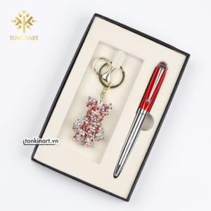 New-idea-bear-key-ring-keychain-and