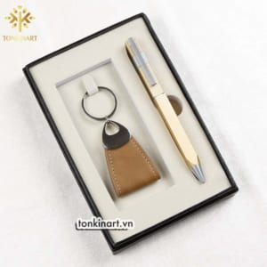 Set-bút-bi-2-min tonkin, móc chìa khóa