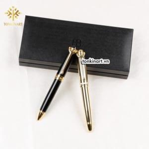 Sản xuất set bút bi hộp da