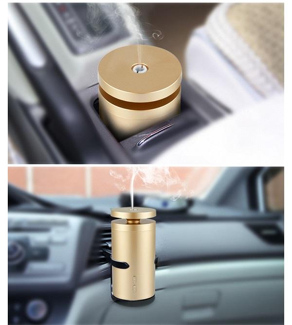 Tinh dầu nước hoa ô tô khử mùi theo dạng tỏa hương thông qua bình xông