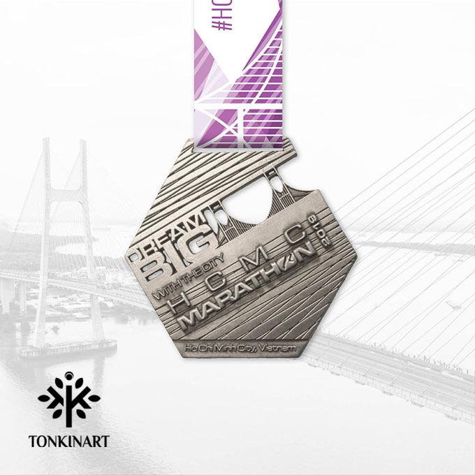 huy chương, quà tặng sinh nhật công ty, huy chương giải chạy