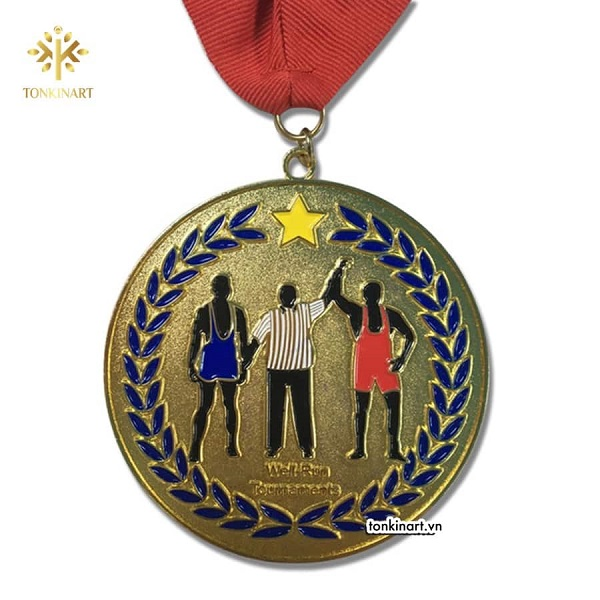Các huy chương đều có màu sắc tươi sáng, không sợ phai màu (Ảnh minh họa)