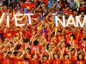 đồ cổ động, cổ vũ bóng đá, Việt Nam vô địch