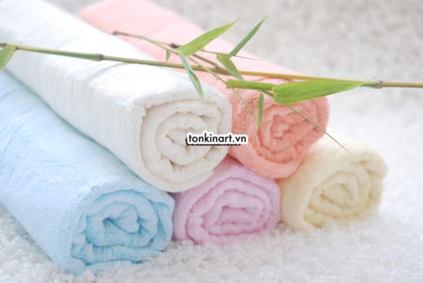 khăn sợi tre, khăn hữu cơ