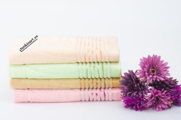 khăn tơ tằm, bộ khăn quà tặng ,