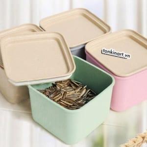 hộp lúa mạch, hộp hữu cơ, hộp bảo vệ môi trường