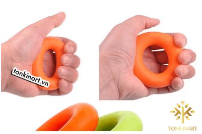 vòng cao su luyện cơ tay