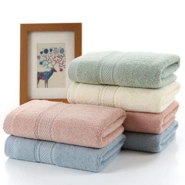 khăn tắm cotton, khăn mặt cotton, khăn tắm cao cấp, khăn cotton