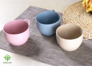 cốc lúa mạch, dụng cụ lúa mạch, dụng cụ thân thiện với môi tường