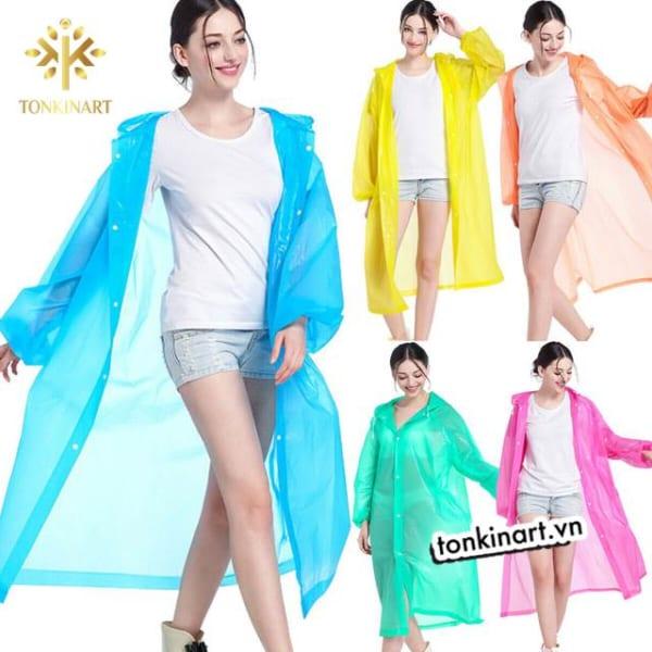 sản phẩm nhựa eva , áo mưa eva, áo mưa thân thiện môi trường