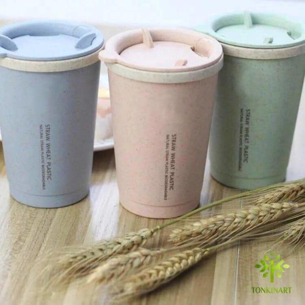 cốc đựng nứơc, cốc nước lúa mạch, hộp đựng kẹo tết,dụng cụ lúa mạch, dụng cụ thân thiện với môi tường
