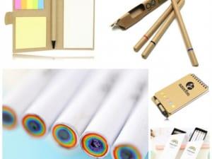 bút giấy, quà tặng thân thiện môi trường, dụng cụ bằng giấy
