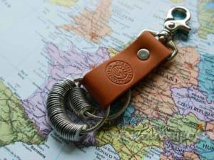 móc chìa khóa, quà tặng du lịch, móc chìa khóa da