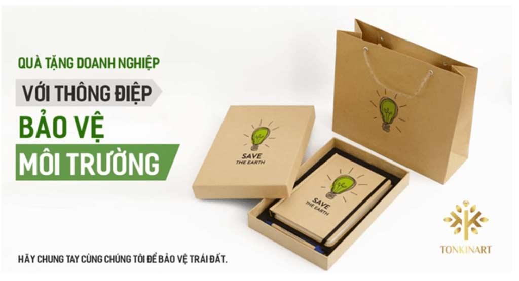 Quà tặng doanh nghiệp bảo vệ môi trường, dụng cụ giấy, dụng cụ bảo vệ môi trường