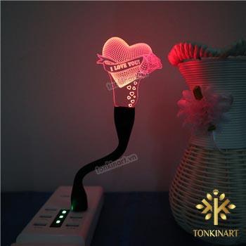 đèn led 3d, đèn led, quà tặng công nghệ,