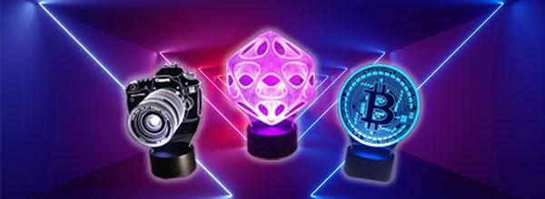 Đèn LED 3D - Thắp sáng ý tưởng