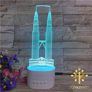 đèn led 3d