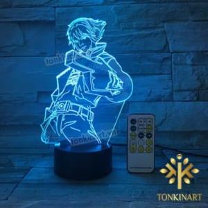 đèn led 3D tonkin Art