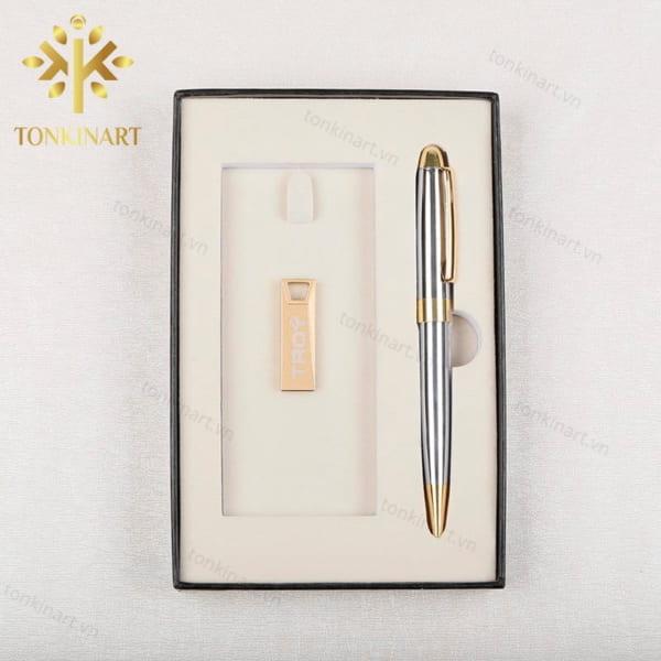 set bút bi, usb, set quà tặng, quà tặng cao cấp, quà tặng doanh nhân, quà tặng đôc đáo,