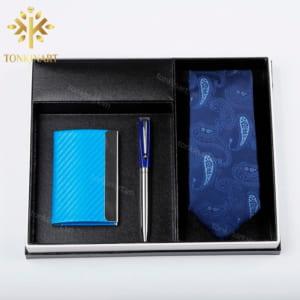 quà tặng doanh nhân, quà tặng cao cấp, set quà tặng, set cà vạt but namecard, set quà tặng nam