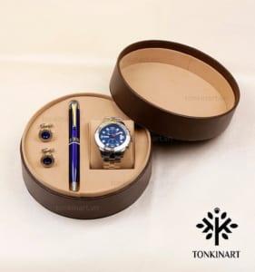 set đồng hồ, quà tặng nam, set quà tặng cao cấp, quà tặng doanh nhân, set đồng hồ cao cấp, set đồng hồ bút khuy măng sét