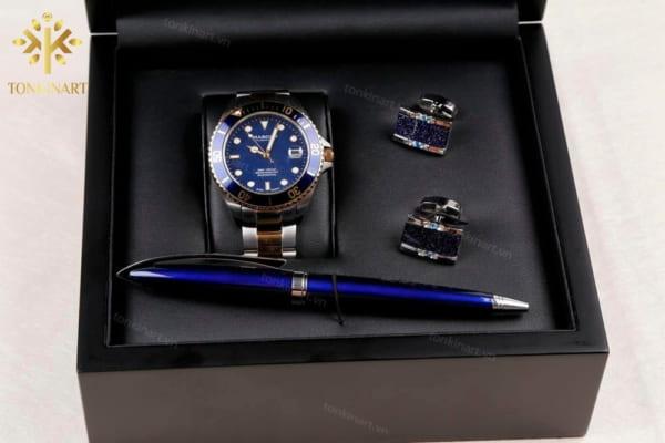set đồng hồ, quà tặng nam, set quà tặng cao cấp, quà tặng doanh nhân, set đồng hồ cao cấp