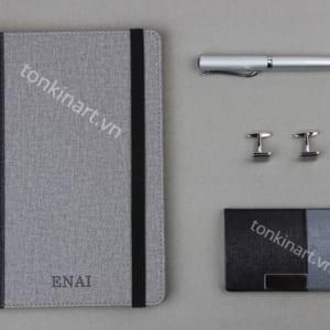 Set sổ tay khuy măng set bút namecard, quà tặng doanh nhân, set quà tặng, bộ quà tặng cao cấp, set sổ tay