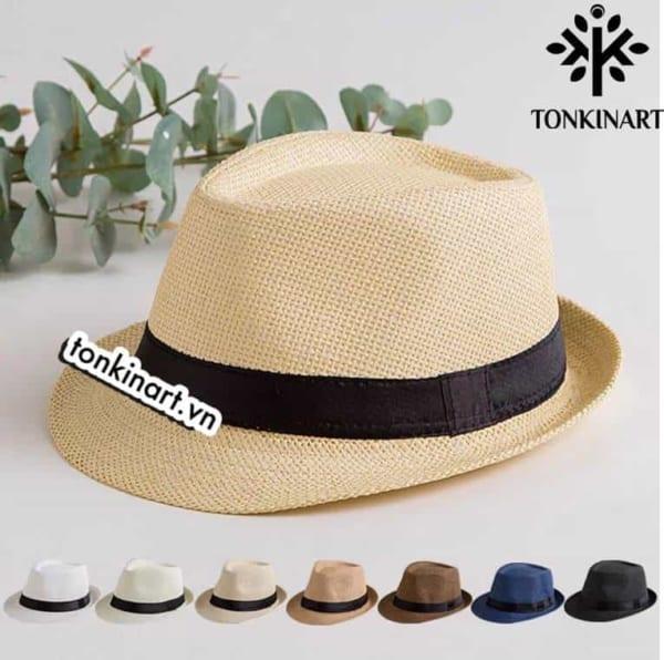 mũ cói, mũ du lịch,