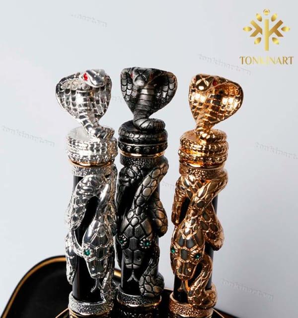 Bút in hình rắn 3D cao cấp, quà tặng doanh nhân, quà tặng cao cấp, quà tặng sự kiện, quà tặng hội thảo