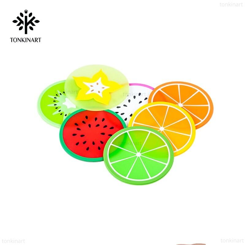 Lót cốc trái cây