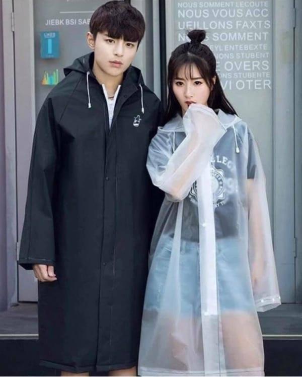 áo khoác đi mưa măng tô